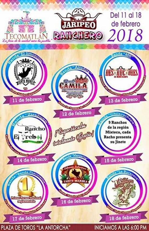 Jaripeo Feria Tecomatlan 2018