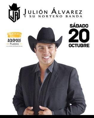 Julion Alvarez en el Acropolis Puebla 2018