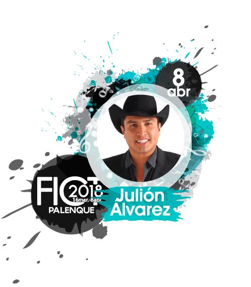 Julion Alvarez en Palenque Texcoco 2018