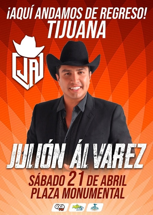 Julion Alvarez en la Plaza Monumental, Tijuana