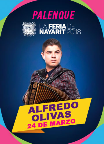Alfredo Olivas en el Palenque Feria Nayarit 2018