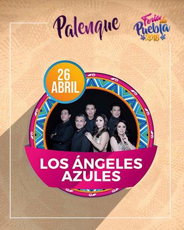 Los Angeles Azules en el Palenque Feria Puebla 2018