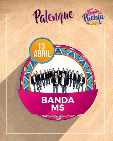 Banda MS en el Palenque Feria Puebla 2018
