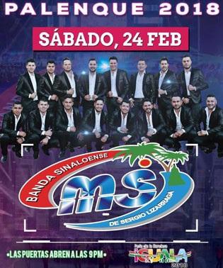 Banda MS en Palenque Feria Iguala 2018