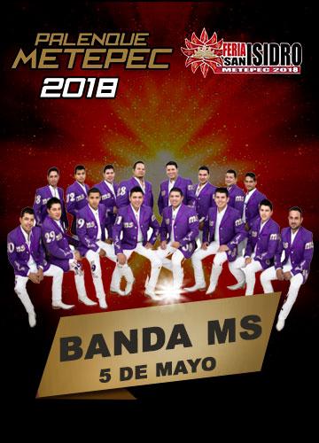 Banda MS en el Palenque Metepec 2018
