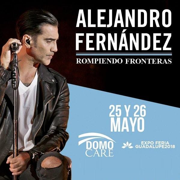 Alejandro Fernandez en el Domo Care 2018