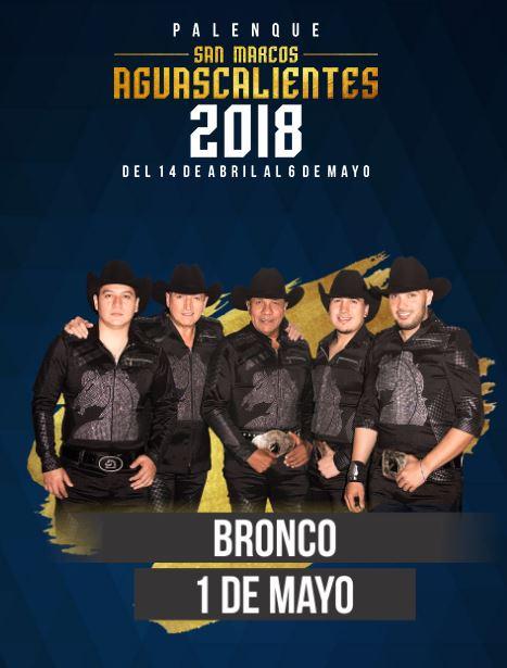 Bronco en el Palenque Feria de San Marcos 2018