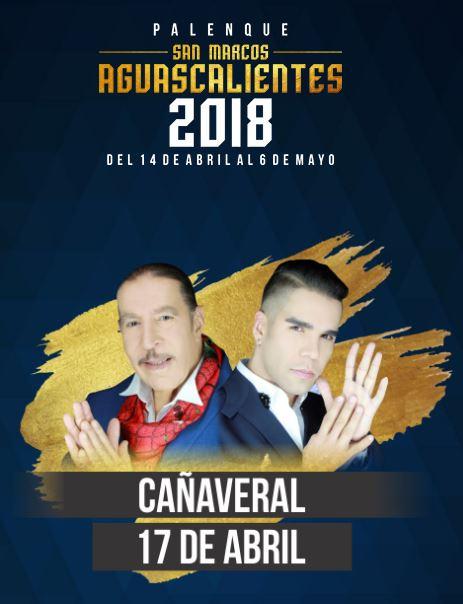 Grupo Cañaveral en el Palenque Feria de San Marcos 2018