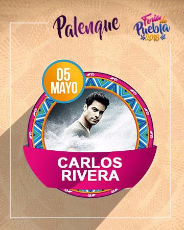 Carlos Rivera en el Palenque Feria Puebla 2018