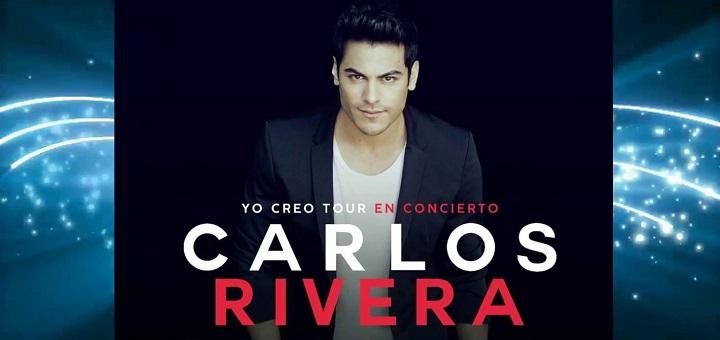 Carlos Rivera Yo Creo Tour 2018