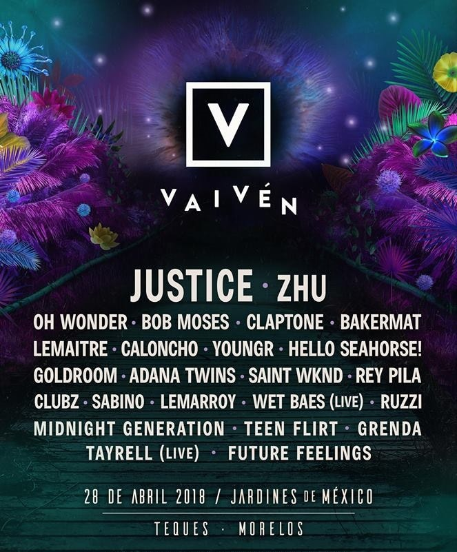 Cartel del Festival Vaiven 2018