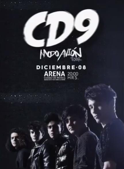 CD9 en la Arena Ciudad de Mexico, Tour 2018
