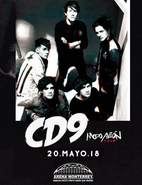 CD9 en Arena Monterrey 2018