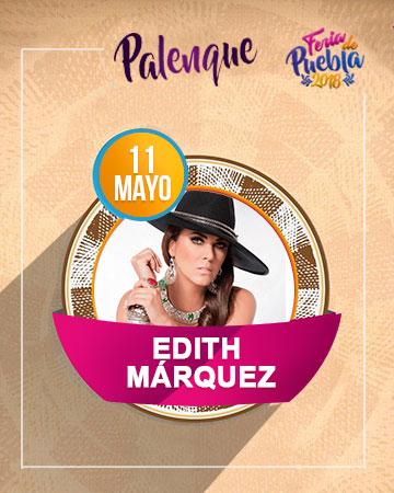 Edith Marquez en el Palenque Feria Puebla 2018