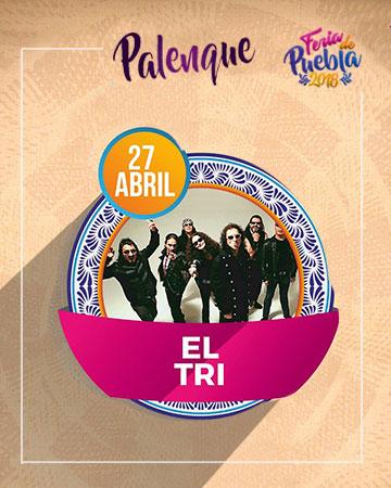 El Tri en el Palenque Feria Puebla 2018
