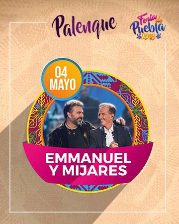Emmanuel y Mijares en el Palenque Feria Puebla 2018