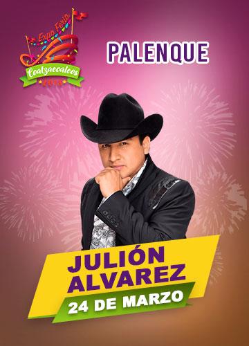Julion Alvarez en Palenque Feria Coatzacoalcos 2018