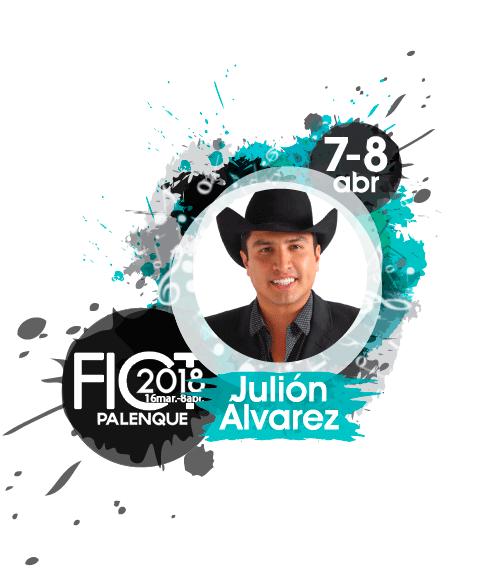 Julion Alvarez en el Palenque Feria de Texcoco 2018