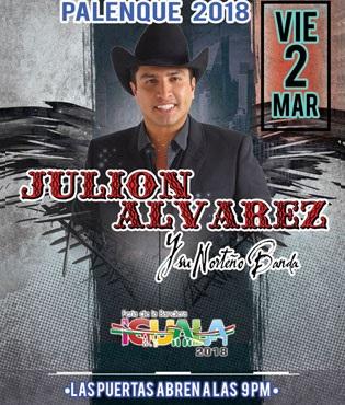 Julion Alvarez en Palenque Feria Iguala 2018