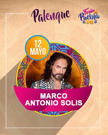 Marco Antonio Solis en el Palenque Feria Puebla 2018