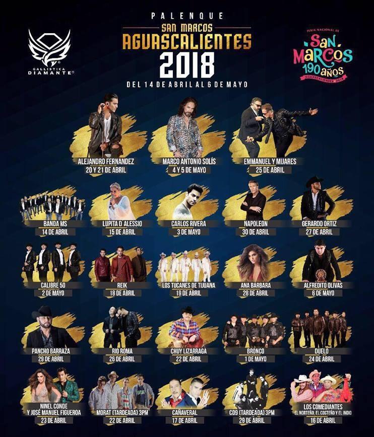 Palenque Feria Nacional de San Marcos 2018