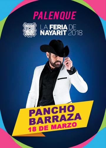 Pancho Barraza en el Palenque Feria Nayarit 2018
