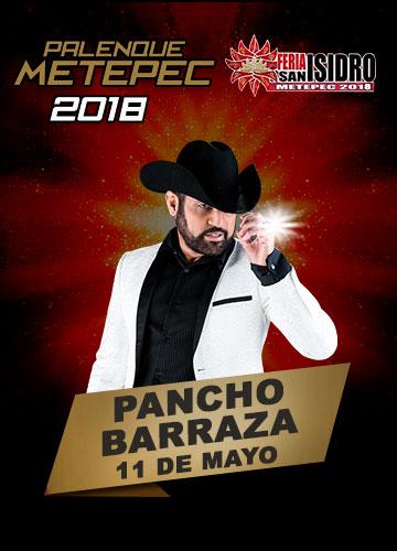 Pancho Barraza en el Palenque Metepec 2018
