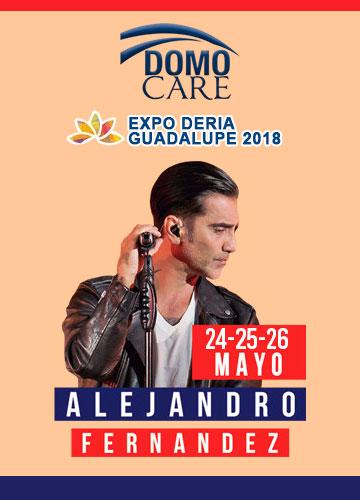 Alejandro Fernandez en el Domo Care Expo Guadalupe 2018