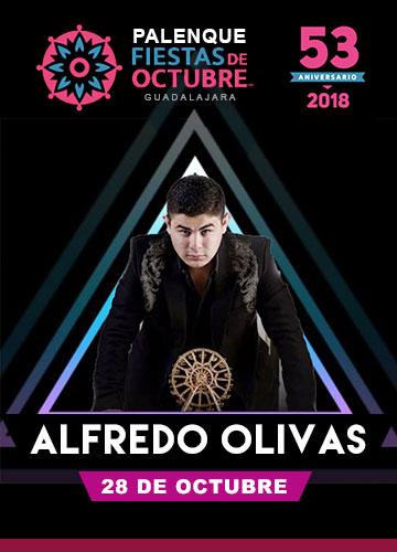 Alfredo Olivas en el Palenque Fiestas de Octubre 2018