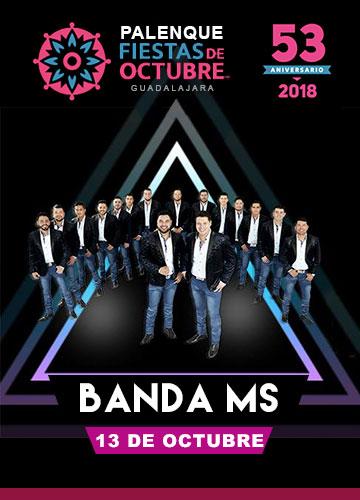 Banda MS en el Palenque Fiestas de Octubre 2018