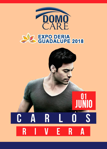 Carlos Rivera en el Domo Care 2018