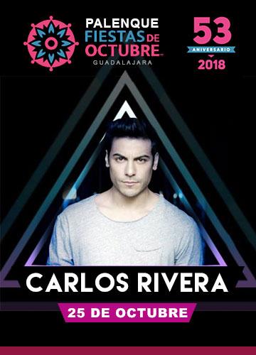 Carlos Rivera en el Palenque Fiestas de Octubre 2018