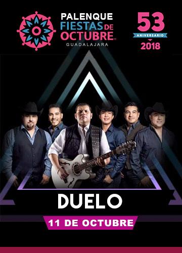 Duelo en el Palenque Fiestas de Octubre 2018