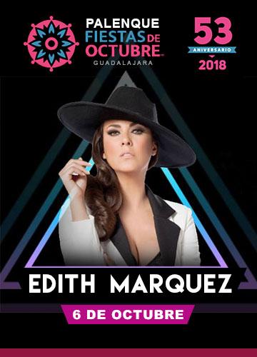 Edith Marquez en el Palenque Fiestas de Octubre 2018