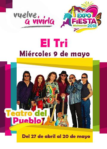 El TRI en la Expo Fiesta Michoacan 2018