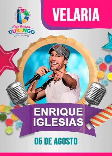 Enrique Iglesias en la Velaria FENADU 2018