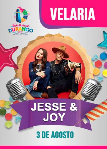 Jesse y Joy en la Velaria FENADU 2018