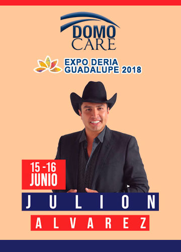Julion Alvarez en el Domo Care 2018