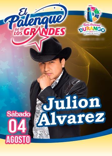 Julion Alvarez en el Palenque FENADU 2018