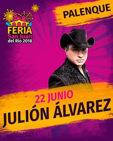 Julion Alvarez en la Feria San Juan del Rio 2018
