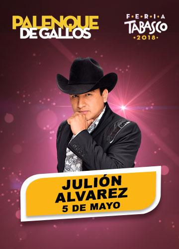 Julion Alvarez en el Palenque de la Feria Tabasco 2018