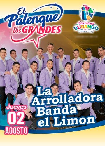 La Arrolladora Banda El Limon en el Palenque FENADU 2018