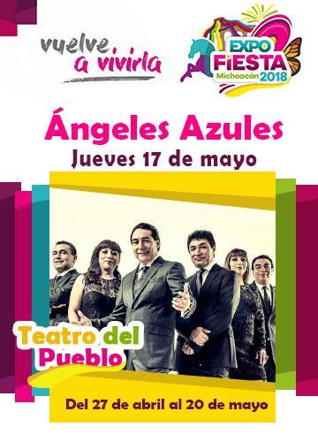 Los Angeles Azules en la Expo Fiesta Michoacan 2018