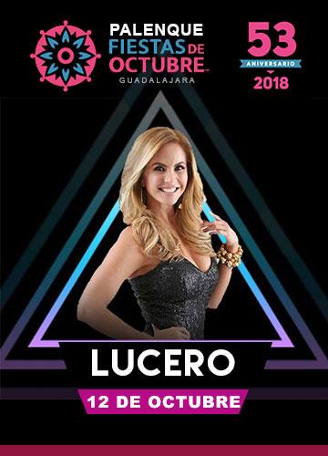 Lucero en el Palenque Fiestas de Octubre 2018
