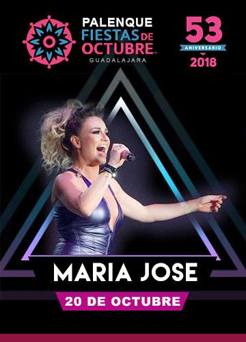 Maria Jose en el Palenque Fiestas de Octubre 2018