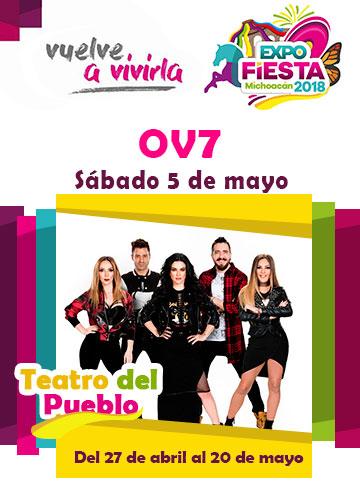 OV7 en la Expo Fiesta Michoacan 2018