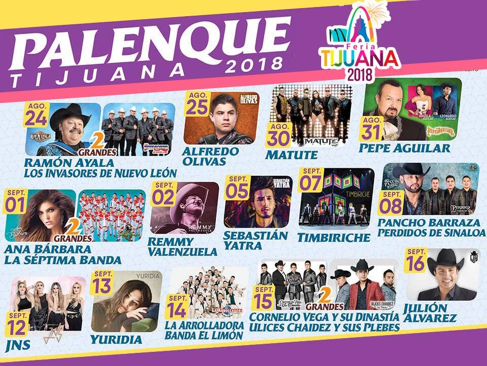 Palenque Feria Tijuana 2018