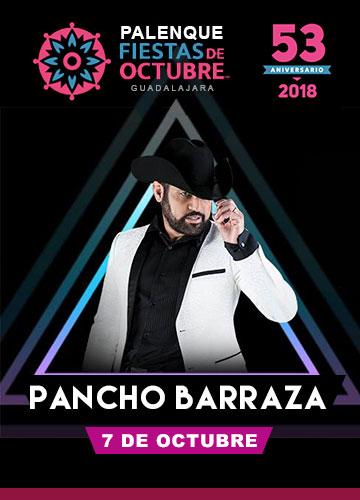 Pancho Barraza en el Palenque Fiestas de Octubre 2018