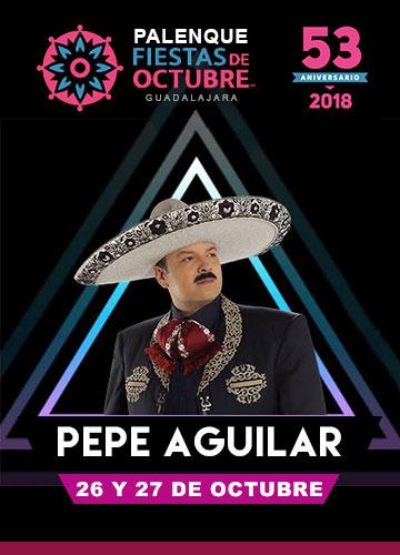 Pepe Aguilar en el Palenque Fiestas de Octubre 2018