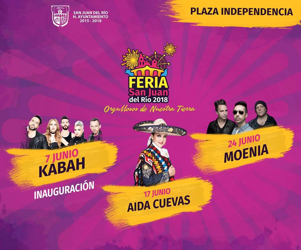 Plaza Independencia Feria San Juan del Rio 2018